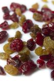 Dried Raisins And Cranberries Stock Photos