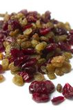 Dried Raisins And Cranberries Royalty Free Stock Photography