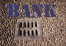 Drain Bank Royalty Free Stock Image