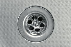 Drain close-up Royalty Free Stock Images