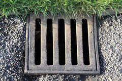 Drain cover Stock Photography