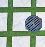Drain cover Stock Image