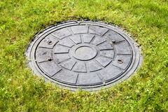 Drain cover. Royalty Free Stock Photos