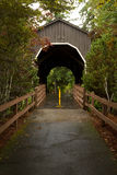 Drain Covered Bridge Royalty Free Stock Photo
