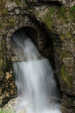 Drain de cascade Photographie stock