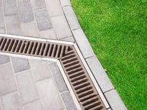 drain de jardin Image stock