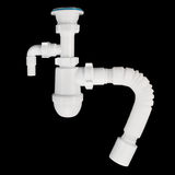 Drain fittings for sinks Royalty Free Stock Image