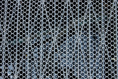 Drain grate and mesh Royalty Free Stock Photos