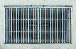 Drain grill Royalty Free Stock Photos