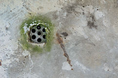 Drain holes Royalty Free Stock Photo