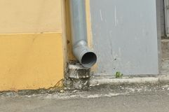 Drain pipe Stock Images
