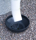 The drain pipe Stock Image