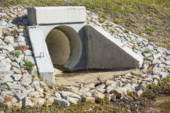 Free Drain Pipe Under The Road For Water Stock Images - 94418084