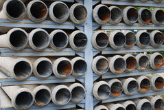 Drain pipes Stock Photography