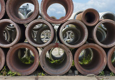 Drain pipes Stock Images