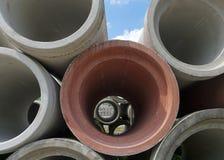 Drain pipes Royalty Free Stock Photos