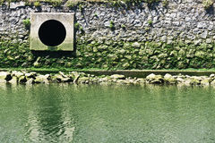 Drain sewage Stock Photo