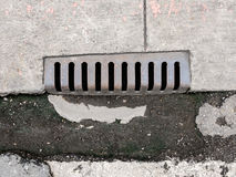 The drain Stock Image