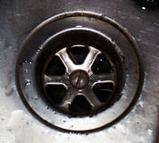 Drain sink Stock Photos