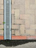 Surface linear and deep drainage systems royalty free stock image