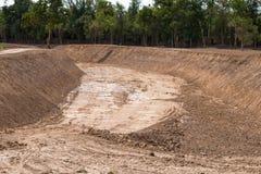 Drainage canal Stock Photo