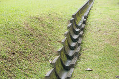 Drainage channel Stock Photography