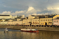 The drainage channel was constructed in 1783-1786 along the Central bend of the Moskva river near the Kremlin. Together with the M Stock Photography