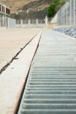 Drainage channels Royalty Free Stock Photography