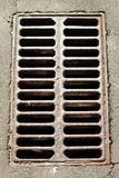 Drainage cover Stock Images