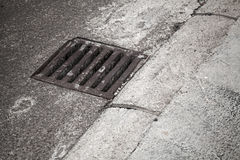 Drainage cover Stock Image
