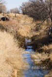 Drainage ditch Royalty Free Stock Photo