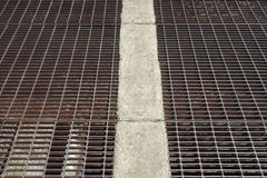 Drainage Grate Royalty Free Stock Image