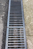 Drainage gutters Stock Images
