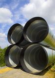 Drainage pipeline Stock Photos