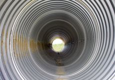 Drainage pipeline Royalty Free Stock Image