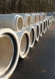 Drainage pipes Stock Images
