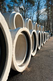 Drainage pipes Stock Photography