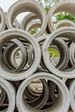 Drainage pipes, concrete Royalty Free Stock Image