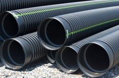 Drainage pipes  Royalty Free Stock Photos