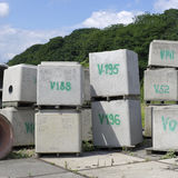 Drainage tanks Royalty Free Stock Photography