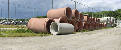 Drainage tanks Royalty Free Stock Photos