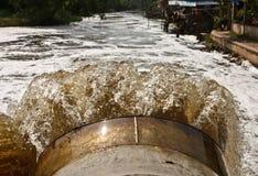 Drainage tube Stock Image