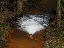 Drainage van drinkwater royalty-vrije stock afbeeldingen