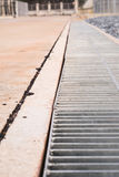 Drainagekanalen Stock Foto