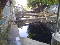 Drainagesloot stock afbeeldingen
