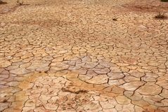 Drained ground, Mongolia Stock Photos