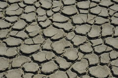 Drained soil Royalty Free Stock Photos
