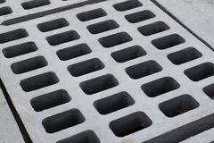 Draining cover Royalty Free Stock Image