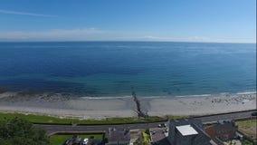 Drains bay beach Royalty Free Stock Image