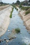 Drains des eaux usées  Images libres de droits